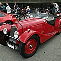 Morgan 4-4 series i, 1936 à 1950
