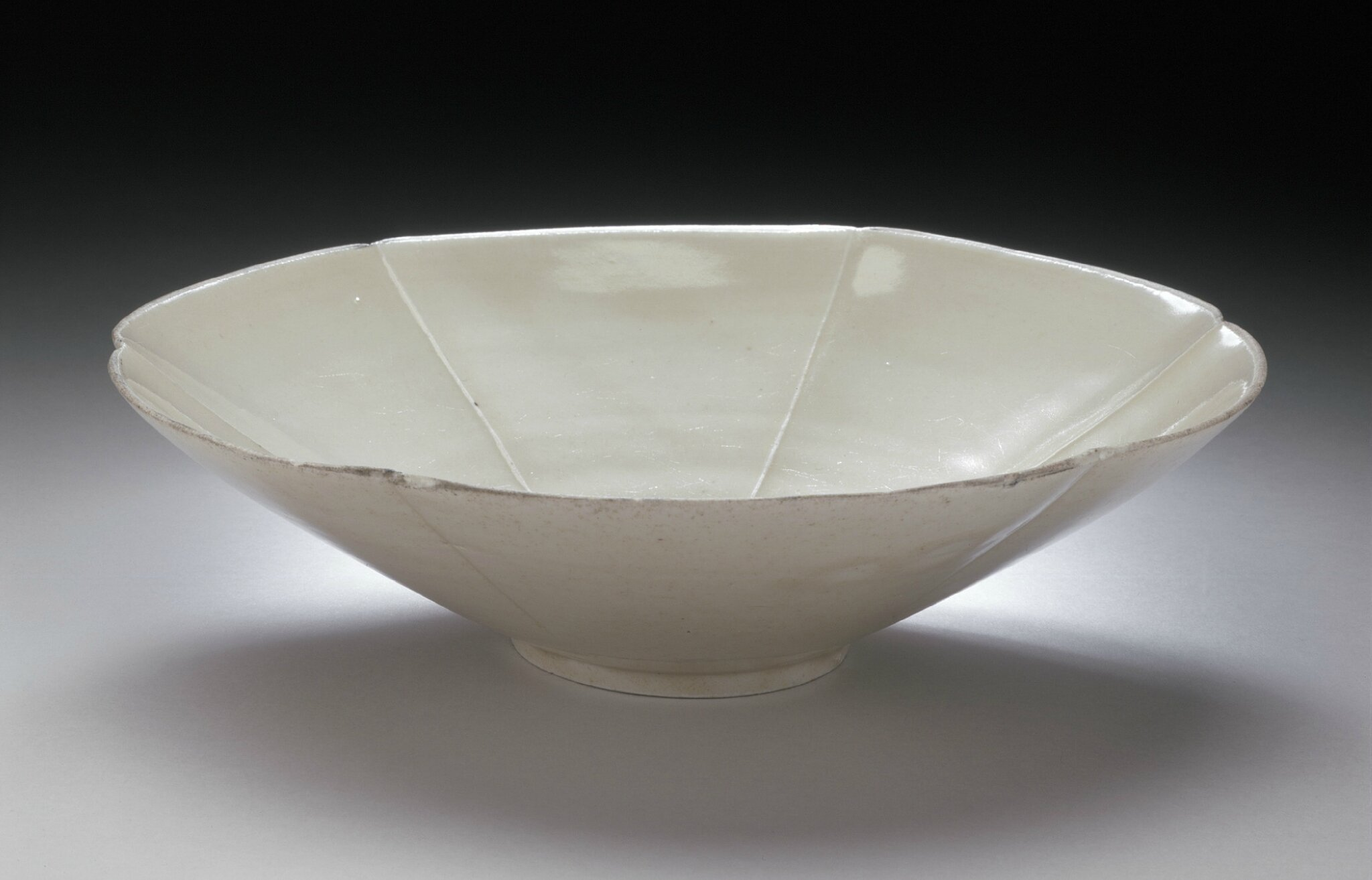 Lobed Bowl (Wan), China, Northern Song dynasty, 960-1127
