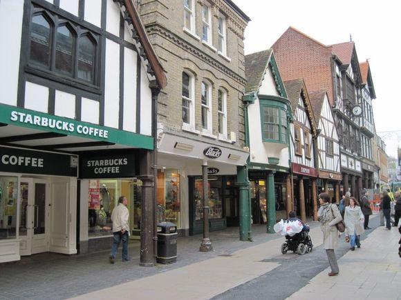 Winchester - Les arcades d'High Street