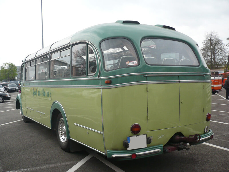 MERCEDES O3500 Reisebus 29 places assises 1953 Speyer (2)