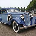 Audi 225 front luxus gläser cabriolet 1935