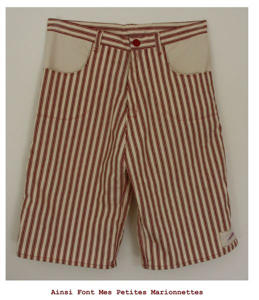 short rouge charly 1