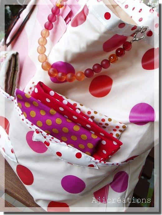 Mon sac atelier Nomade, multipoches ©Marimerveille