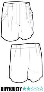 Ralph Pink - Paperbag Shorts