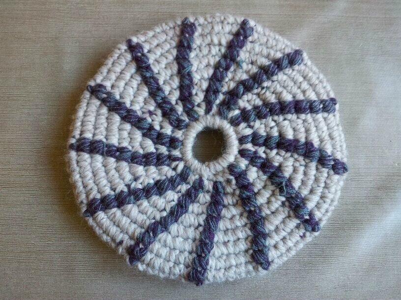 frisbee violet 1