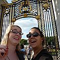 Gomaaaard et Lisa at Buckingham Palace