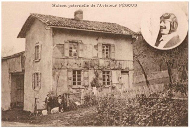 CPA Maison famille de Pégoud