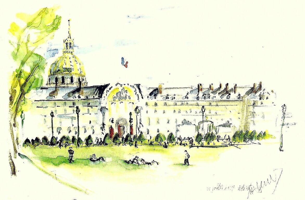 Les Invalides Paris