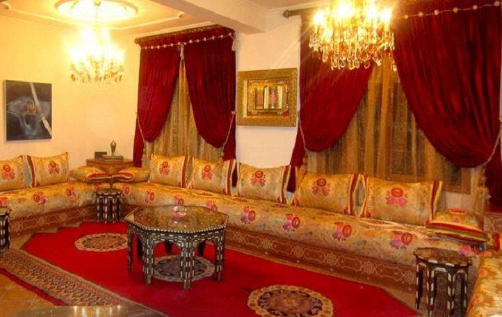 Modèles salon marocain traditionnel
