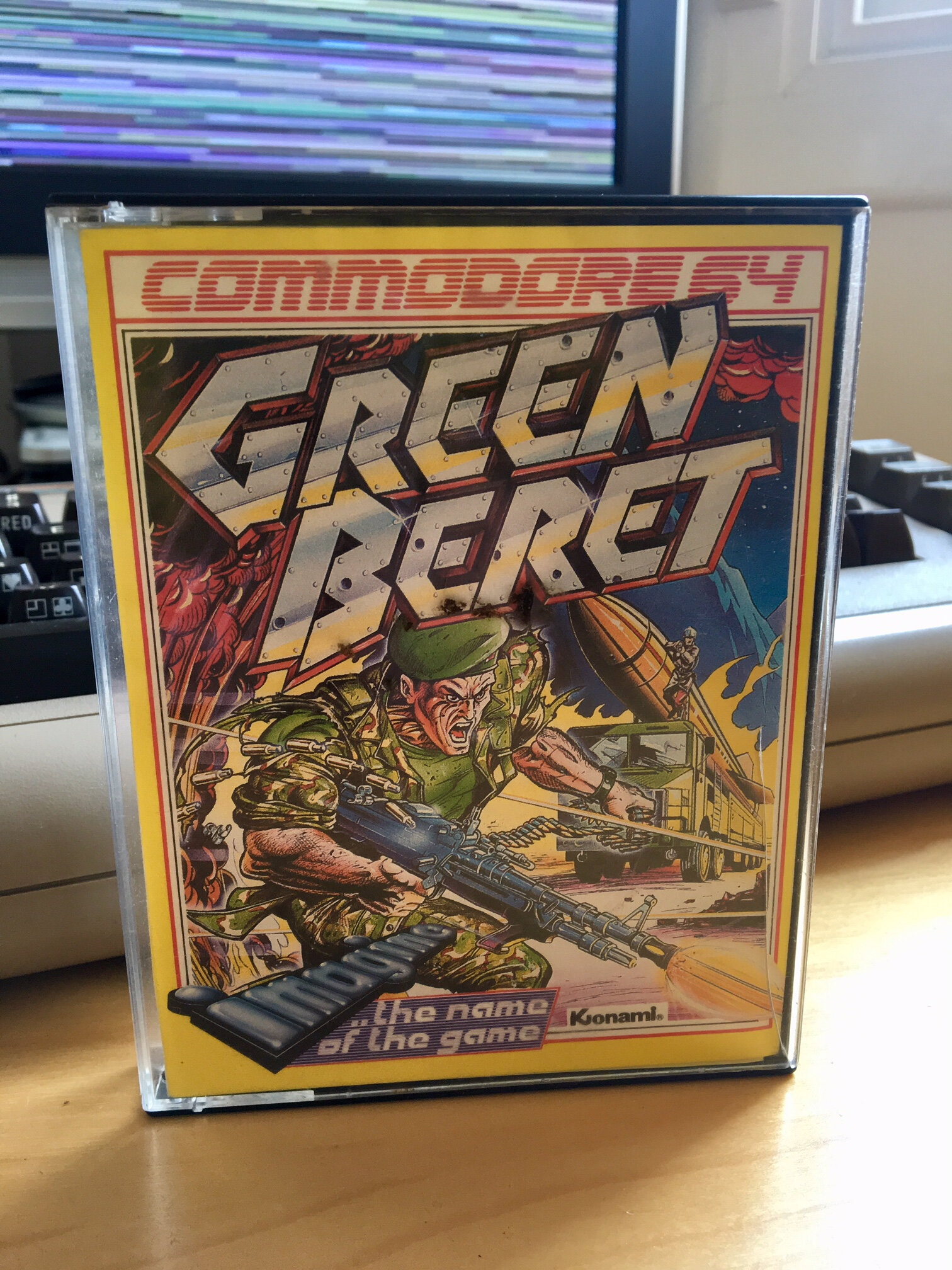 Green Beret sur Commodore 64