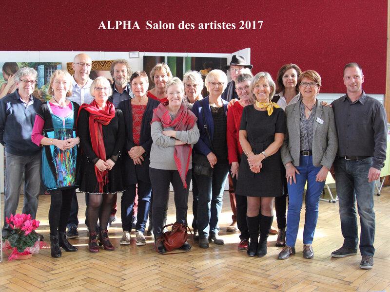 ALPHA Salon des artistes 2017[107]