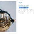 Lanterne electrique .