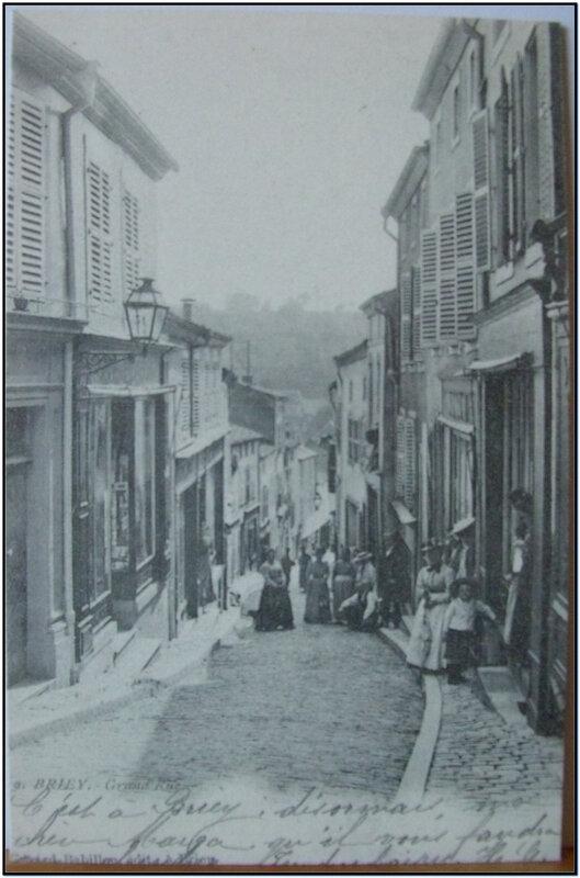 Briey - grande rue