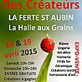 Week end du 18 & 19 avril 2015