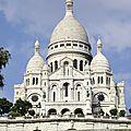 Paris, le sacré-cœur.