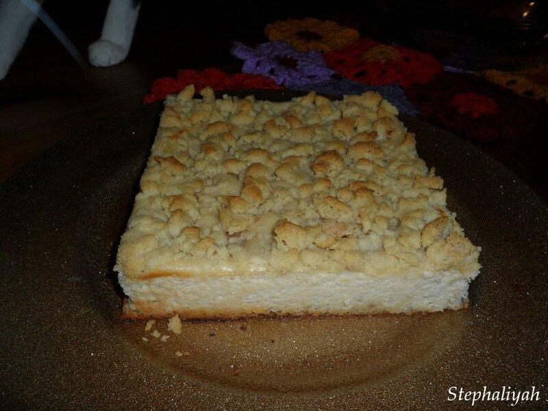 Cheesecake framboises -- 4