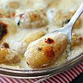 Gratin de pommes de terre au roquefort (+ résultat du tirage au sort)