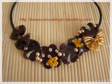 COLLIER_BUNA_FLEURS_MARRON_JAUNE_LRCREATIONS