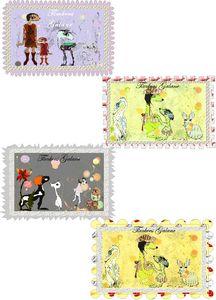 timbres à bords nouveaux