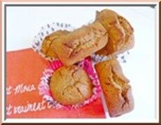 muffins praliné noisette