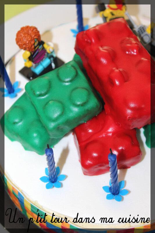 Gâteau lego 3
