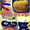 Poustache héros so nils ♡♡