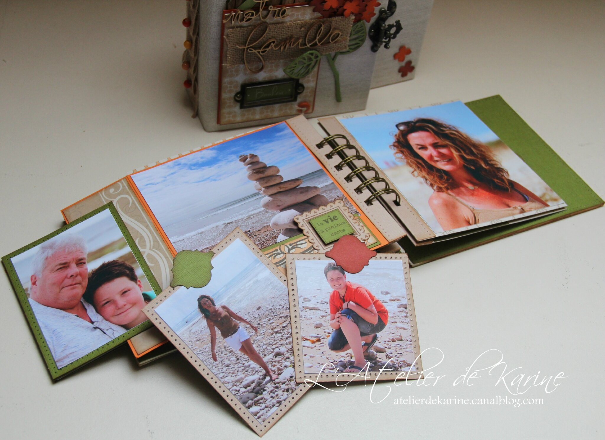 Mini Album et son coffret - Pure Lorelaïl Design 38