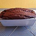 Cake ultra moelleux chocolat caramel & philadelphia 015