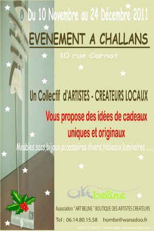 Flyer 1ère édition ART BELINE