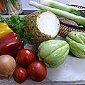 récolte du jour - www.passionpotager.canalblog.com