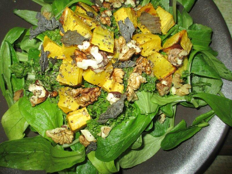 salade-vinaigrette-persil-frise
