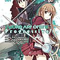 Sword art online progressive, tome 1 de reiki kawahara
