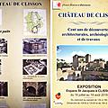 Exposition : cent ans de découvertes au château de clisson