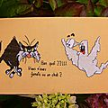 carte halloween pour Isabelle