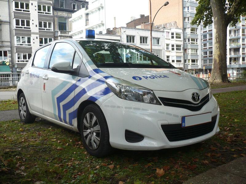 TOYOTA Yaris Police de Liège (1)