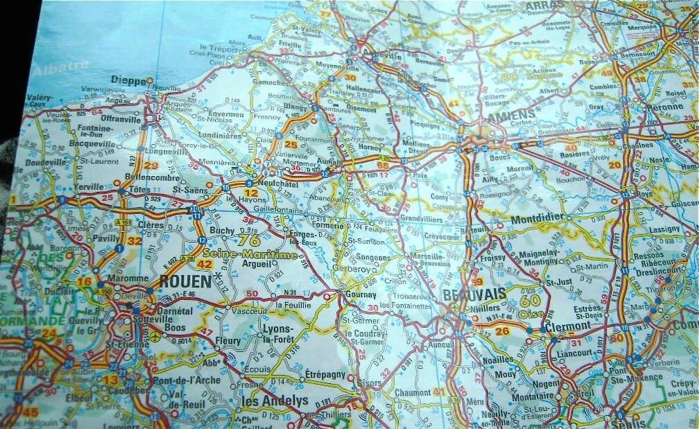 Se rendre à Rouen