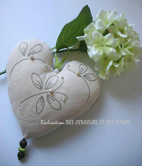 coeur aux papillons