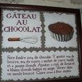 gâteau au chocolat ... délicieux !