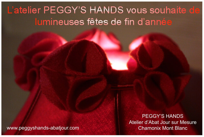 Voeux PEGGY'S HANDS 2019