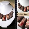 Collier zéila #001