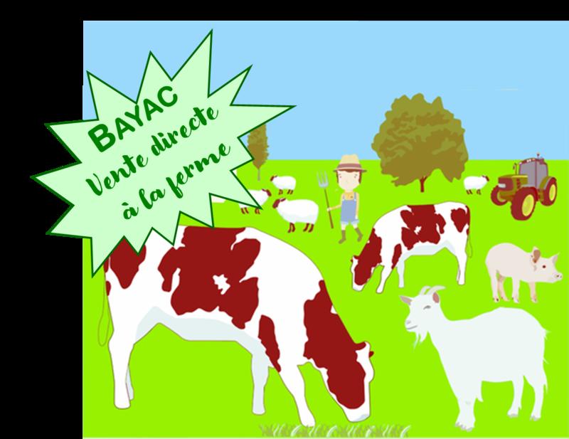 Bayac vente à la ferme