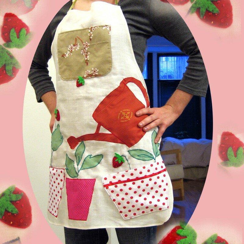 Tablier fraise