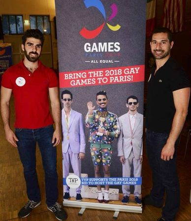 Armando Santos Gay Games Paris 2018
