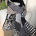 Une écharpe crazy pour la rentrée ?
