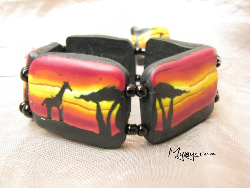 Chobe sunset bracelet