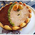 chocolat abricot mousse marron