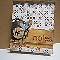 Un carnet de notes pour ma nsp...