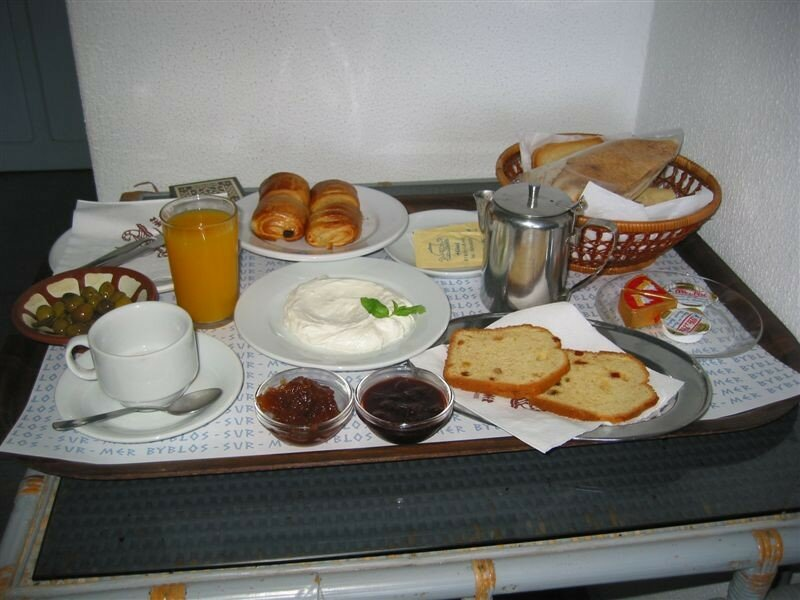 Le petit déjeuner du prince.