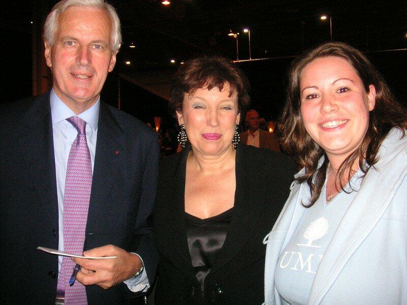 Roselyne Bachelot, Michel Barnier et Moi
