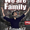 « we are family » de david dos santos au théâtre du funambule